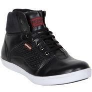 Provogue Black Sneaker Shoes -yp22