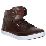 Provogue Brown Sneaker Shoes -yp26