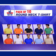 Pack of 10 Round Neck T-shirts (10RT1)