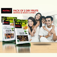 Pack of 2 Dry Fruits, Seeds & Berries + Free Saffron