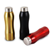 Pack of 2 Stainless Steel Colored Water Bottles
