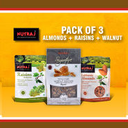 Pack of 3 Dry Fruits Combo