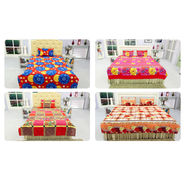 Pack of 4 Double Bedsheets + 4 Single Bedsheets (4DSBS21)