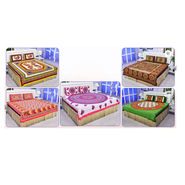 Pack of 5 100% Cotton Double Bedsheets (5BS48)