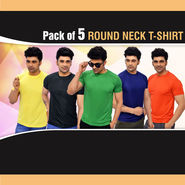 Pack of 5 Round Neck T-shirts (5RT1)