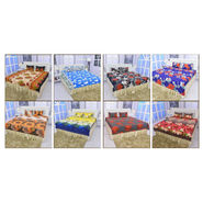 Pack of 8 Double Bedsheets (8BS3) + 1 Double Bedsheet Free