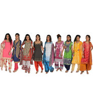 Pack of 9 Assorted Printed Dress Material by Pakhi (9PDM1)