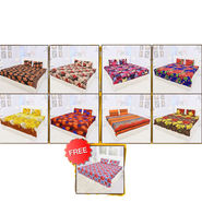 Pack of 8 Double Bedsheets + 1 Double Bedsheet Free (9BS1)
