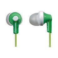 Panasonic RP-HJE118E-G In-Ear Earphone - Green