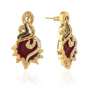 Panini Designer Dangle Earrings - Multicolour _ F-120