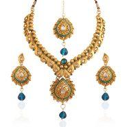 Panini Alloy Necklace Set - Multicolour _ Y-1