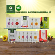 Organic Harvest 100% Pearl Fairness & Anti Tan Organic Facial Kit