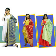 Pick Any 1 Banarasi Dupatta by Pakhi (1D1)