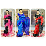 Pick Any 1 Bandhini Saree by Pakhi (1BS1)
