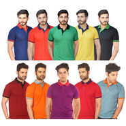 Pick Any One Collar T-shirt for Men by Mr. Tusker (TAP1)