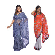 Pick Any One Embroidered Saree by Zuri (DES15)