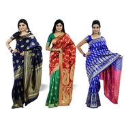 Pick Any One Kanjeevaram Silk Saree by Zuri (KSS23)
