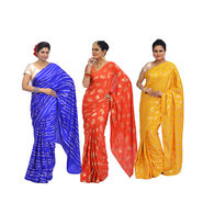 Pick Any One Satin Crepe Saree by Pakhi (SCS1)