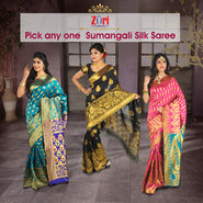 Pick Any One Sumangali Silk Saree by Zuri (CSS1)