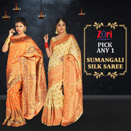 Pick Any One Sumangali Silk Saree by Zuri (KSS7)