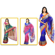 Pick Any 1 Kanjeevaram Inspired Art Silk Saree by Pakhi (TAS4)