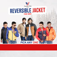 Pick Any One Reversible Jacket for Men by American Indigo