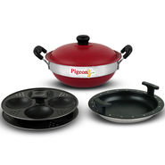 Pigeon 3 in 1 Colored Non Stick Multi Kadhai