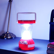 Powerful Rechargeable Solar Emergency Light with 7 Modes