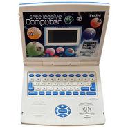Prasid 50 Activities Super Intellective Kids Laptop - White