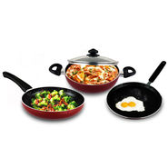 Prestige 4 Pcs Non Stick Cookware Set