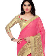 Indian Women Georgette Printed Saree -RA10613