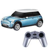 BMW Mini Cooper S 1:24 Remote Control Toy Car Model - Blue