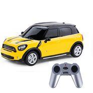 BMW Mini Countryman 1:24 Remote Control Toy Car Model - Dark Yellow