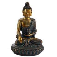 Charming Gold Finish Buddha Idol Showpiece-REF1543