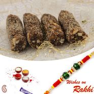 Khajoor Roll Sweet with FREE 1 Bhaiya Rakhi