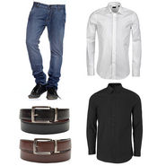 Royal son Mens Essential Accessories Combo With Shirts_RSC004