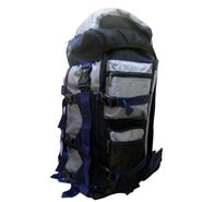 Donex Waterproof Big size High quality 43 litre Rucksack Grey and Blue _RSC00854
