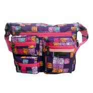 Donex Beautiful Printed Unisex Messenger Bag Multicolor _RSC00941