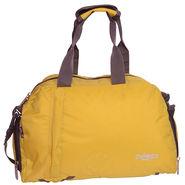 Donex Nylon Yellow Duffle Bag -Rsc01277