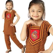 Little India Rajasthani Zigzag Sanganeri Motif Salwar Suit - DLI3GED102B