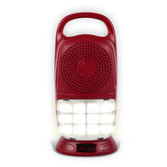 Rechargeable Bluetooth Speaker with LED Light