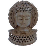 Religious Buddha Statue Carved Wooden Gift -149