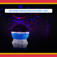 Rotating Projection Star Lamp