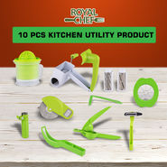 Royal Chef 10 Pcs Innovative Kitchen Utility Products