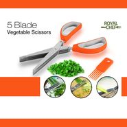 Royal Chef 5 Blades Vegetable Scissors