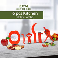 Royal Chef 6 Pcs Kitchen Utility Combo