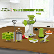 Royal Chef 7 Pcs Kitchen Utility Combo
