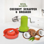 Royal Chef Coconut Scraper & Coconut Breaker