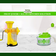 Royal Chef Fruit Juicer + All in One Kitchen Solution