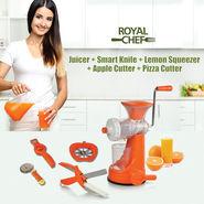 Royal Chef Juicer + Smart Knife + 3 Free Kitchen Tools